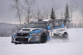rally subaru wagon first slide 2014 subaru wrx sti rally america race car motor trend