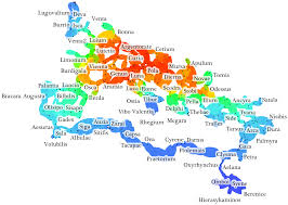 Map Of Metro In Rome by Visualization Of Network Distance Digital Humanities Specialist