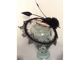 lace fascinator lace fascinator black wedding races