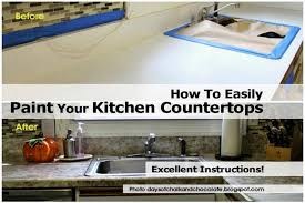 kitchen livelovediy how to paint tile countertops painted kitchen