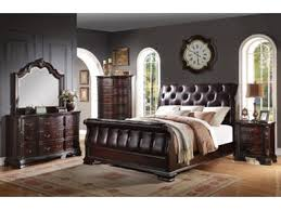 Sheffield Bedroom Furniture by Sheffield Grey Sleigh 5pc Bedroom Set