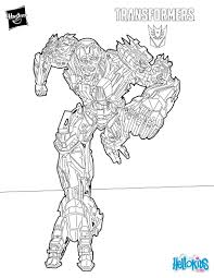 ruthless bounty hunter from transformers coloring page more