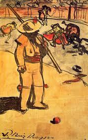 expressionism art picador by pablo picasso size 21x13 5 cm um