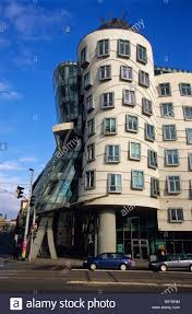 Frank Gehry by Dancing Building By Frank Gehry And Vlado Milunic Prague Czech