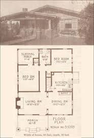 1912 small california bungalow plan los angeles investment