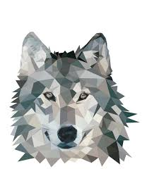 wolf face low poly tattoo design best tattoo designs