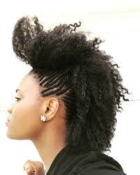 mohawk for short hairstyle black women hair is our crown