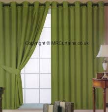 Moss Green Curtains