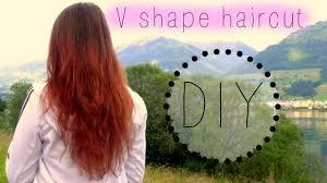 diy v shape and steps haircut kwezislife youtube