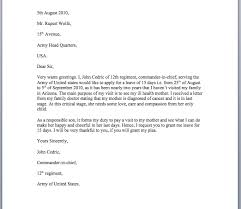 College Application Letter For Leave Leave Application Letter Sle Smart Letters
