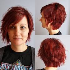 asymmetrical haircuts for women over 40 with fine har 60 short choppy hairstyles for any taste choppy bob choppy