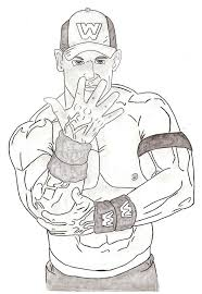 john cena coloring pages to print olegandreev me