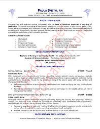best nursing resume examples