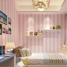 girls u0027 room lovely pink and blue modern stripes wallpaper home