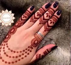 easy and simple ring mehndi designs for fingers craft community