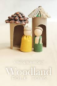 woodland folk toys for thanksgiving tried true