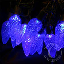blue c9 led lights