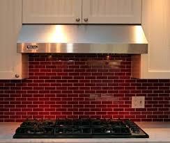 red brick backsplash kitchen black and white tiles subscribed me