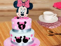 minnie mouse cake minnie mouse fondant cake my minnie mouse cake bakingo