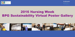 2016 nursing week bpg sustainability virtual poster gallery by