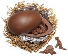 chocolate dinosaur egg chocolate dinosaur egg it open to find milk chocolate