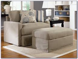 oversized chair with storage ottoman chairs home decorating