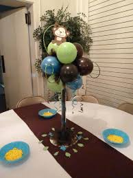 monkey centerpieces for baby shower breathtaking monkey themed baby shower centerpieces 78 on pictures