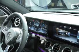 mercedes benz e class interior 2017 mercedes benz e class video first look