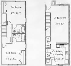 floor plans for units basham rentals 326 s chauncey floor plans