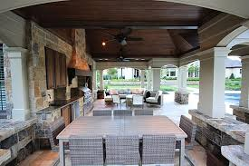 outdoor kitchen backsplash furniture outdoor kitchen idea stainless steel refrigerator built