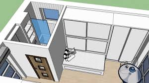 Square Feet To Square Meter Google Sketchup Concrete Tiny House 19 Square Meters 204