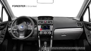 white subaru forester interior 2016 subaru forester 2 5i limited youtube