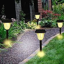 solar decorations lights outdoor decorative