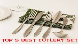 top 5 best cutlery set in 2017 best cutlery set review youtube