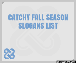 30 catchy fall season slogans list taglines phrases names 2018