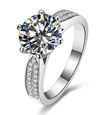 aliexpress buy anniversary 18k white gold filled 4 aliexpress buy choucong engagement 9mm 5a zircon 14kt
