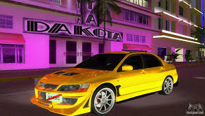 evolution mitsubishi 8 mitsubishi lancer evolution viii type 8 for gta vice city