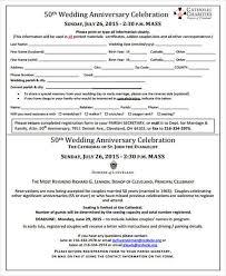 Wedding Anniversary Program 22 Event Program Samples