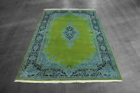 Green Area Rug 8x10 Interior Lime Green And Black Fur Rug With Pattern With And