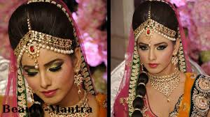 bridal hair for oval faces wedding makeup amrapali bridal look complete hair and makeup