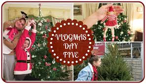 buying and decorating the christmas tree vlogmas youtube