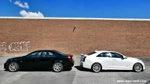2016 cadillac ats v vs 2004 cadillac cts v showdown generation