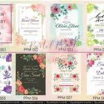 wedding invitations quezon city wedding invitation suppliers quezon city fresh pastel print manila