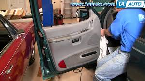 2003 Ford Expedition Interior Parts How To Install Replace Door Panel Ford Explorer 95 01 1aauto Com