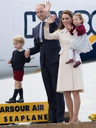 kate middleton and the royal family say goodbye to canada with a