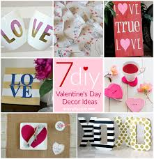 Valentines Day Decor Valentine U0027s Day Décor Round Up My Crafty Spot When Life Gets