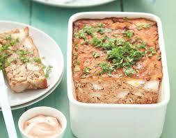 cuisine poisson facile recette terrine de poisson à la tomate