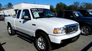 07 ford ranger specs 2007 ford ranger xlt supercab 4x4 leather for sale ravenel
