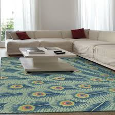 Peacock Area Rugs Peacock Feather Area Rug Home Design Ideas