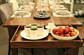 how to dress a delectable dining table u2013 try small things